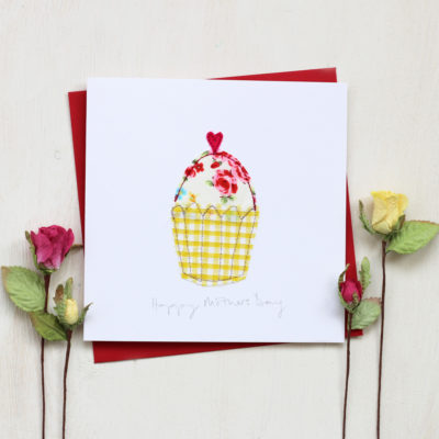 Mothers Day Card Cupcake