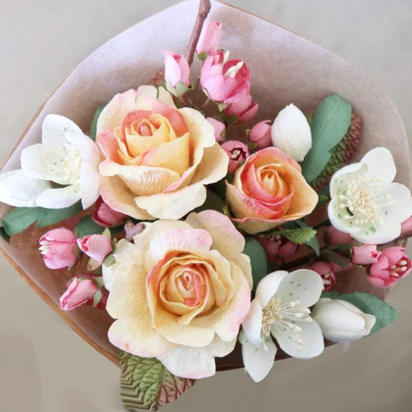 Paper Flower Bouquet Spring