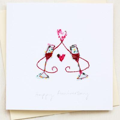 Anniversary Card Handmade