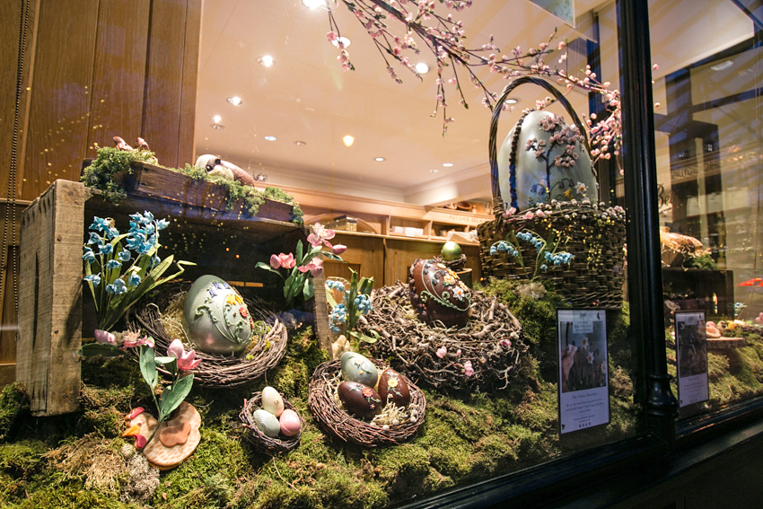 Bettys Easter Window