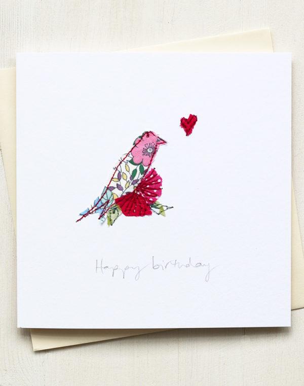 Birthday Card Bird