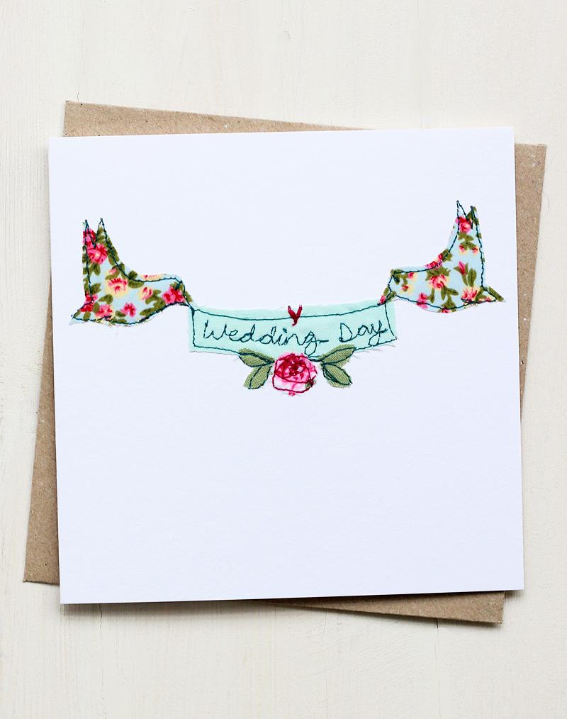 Excellent Beautiful Wedding Card Handmade Embroidered Design Funny Birthday Cards Online Alyptdamsfinfo