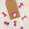Pink Paper Heart Confetti