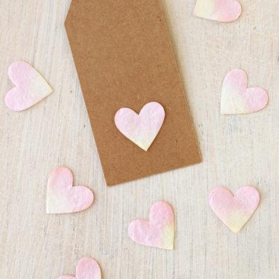 Heart Shaped Table Confetti