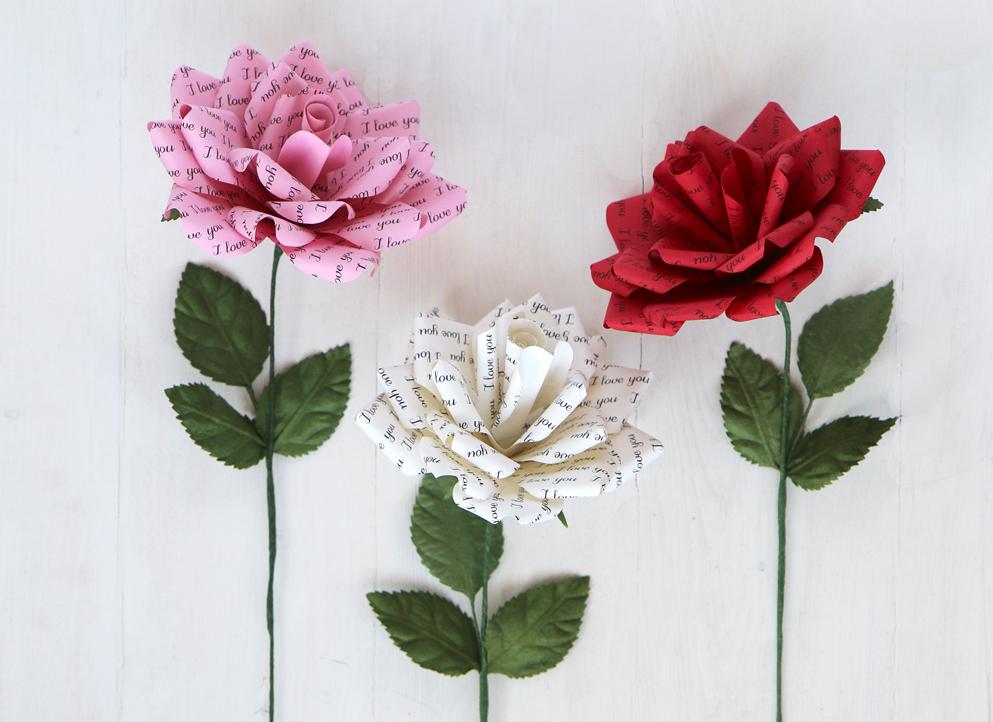 Love Paper Roses