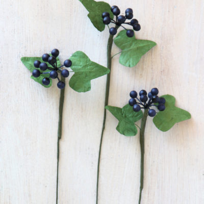 Artificial Ivy Berry