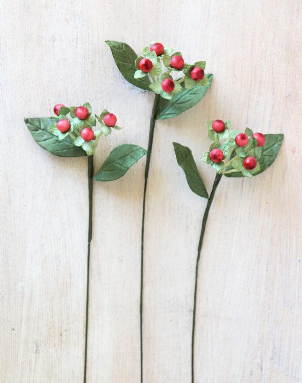 Paper Berries