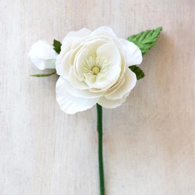 Paper Ranunculus Rose
