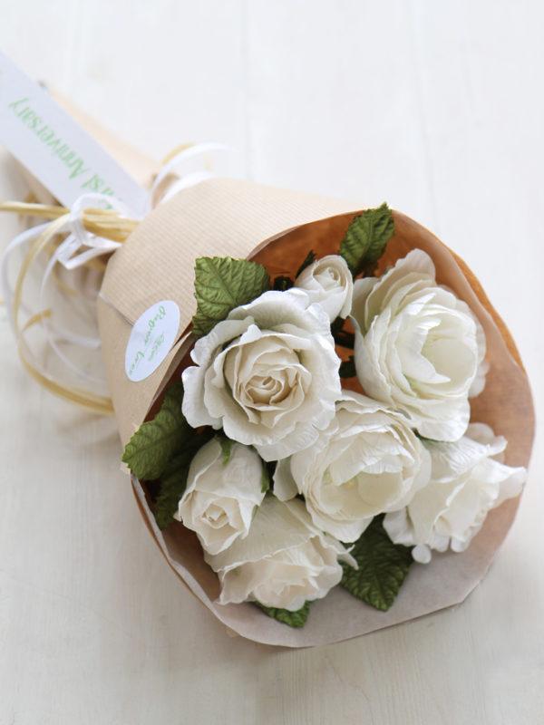 Paper Anniversary Flowers