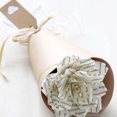 Paper Anniversary Rose