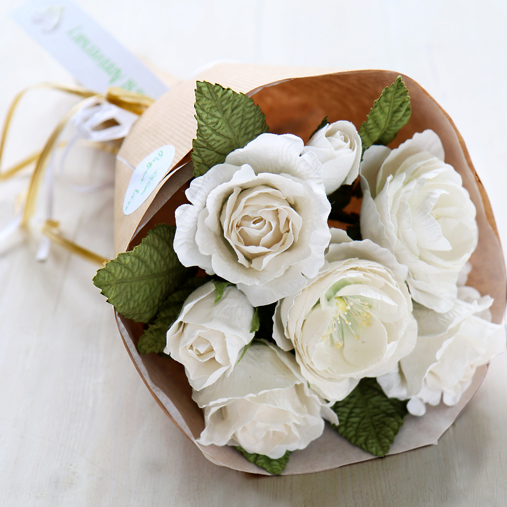 Wedding Gift Flowers: First Wedding Anniversary Bouquet
