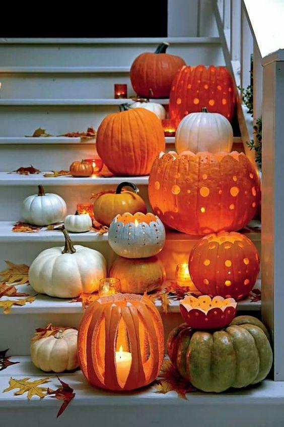 Beautiful Halloween Pumpkins