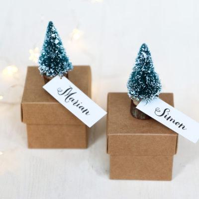 Mini Christmas Gift Box