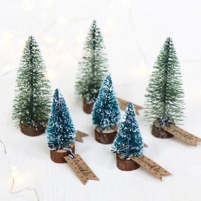 Mini Christmas Tree Decorations
