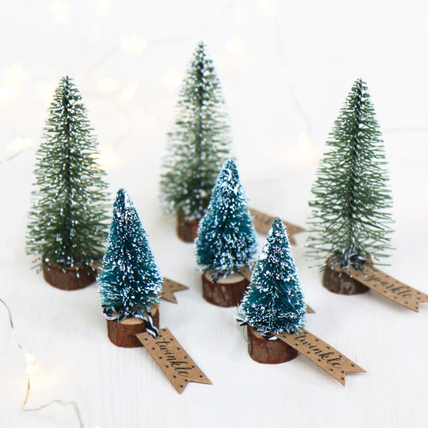 Mini Christmas Tree Decorations