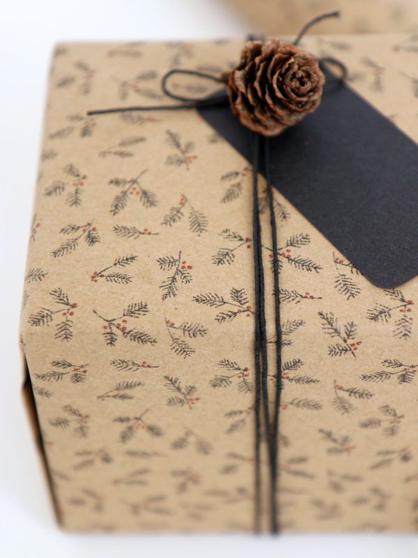 Brown Gift Wrap