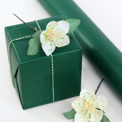 Dark Green Wrapping Paper
