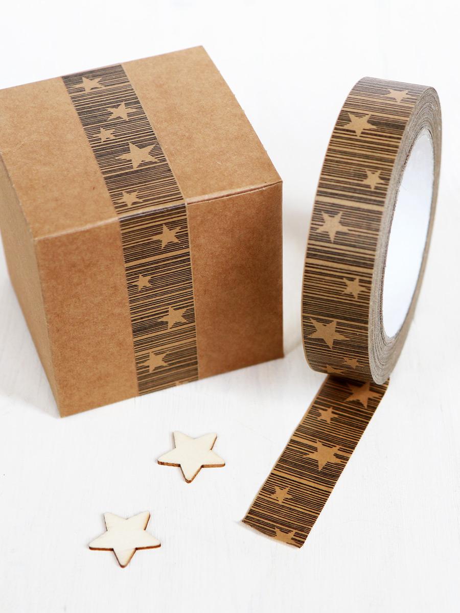 koop het beste best leuk eerste klas Decorative Paper Tape | Star Christmas Tape for Gift Wrap & Craft