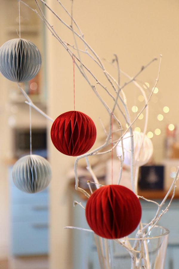 Paper Bauble Decorations