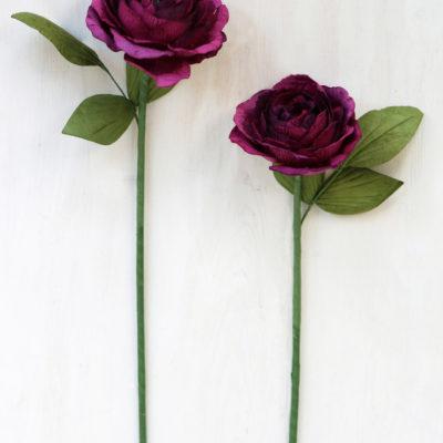 Paper Camellia Flowers