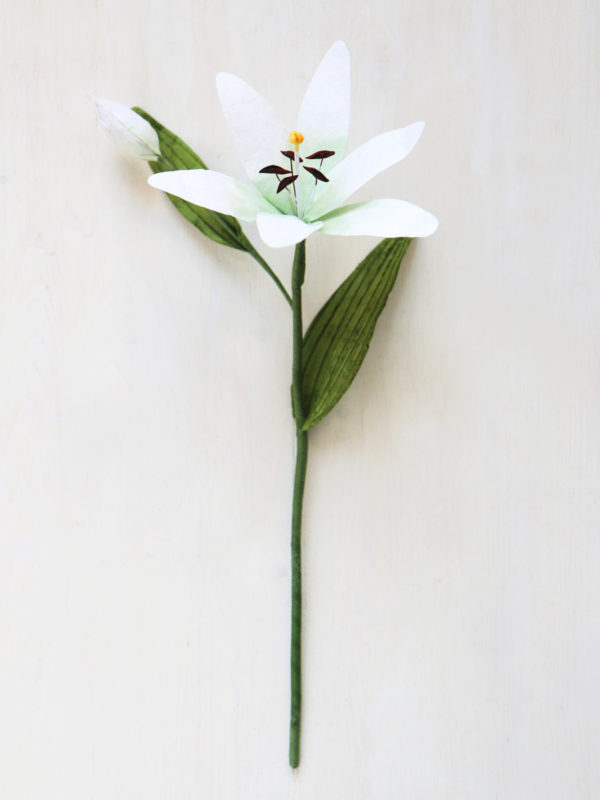 Handmade Paper Lily