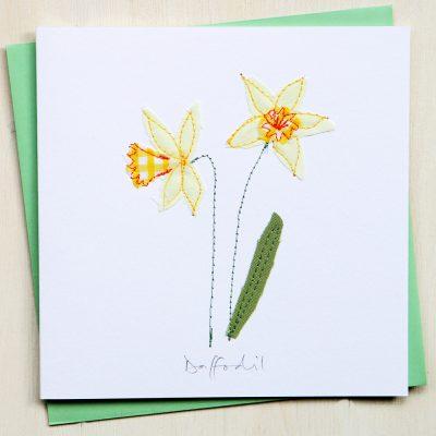 Easter Card Daffodils