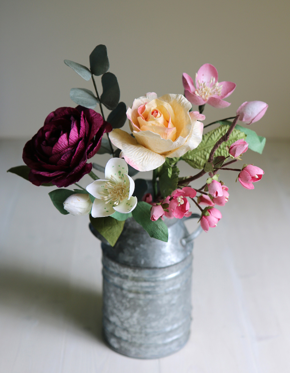 Paper Flower Posy of Spring Flowers