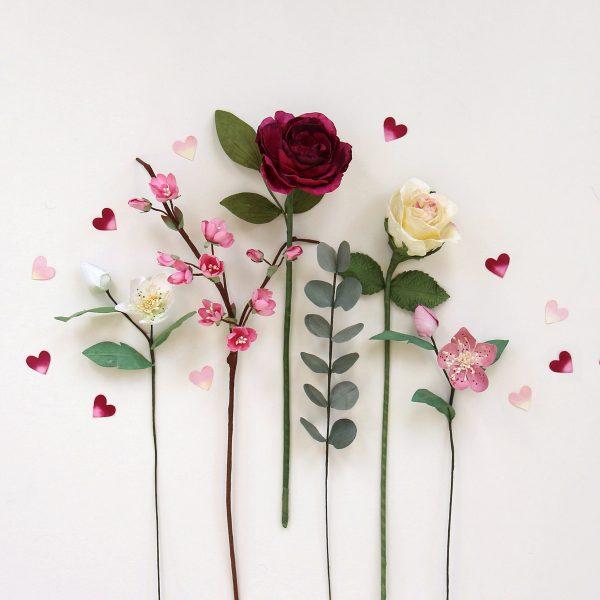 Paper Spring Flowers