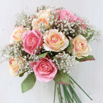 Wedding Bouquet Pink Yellow