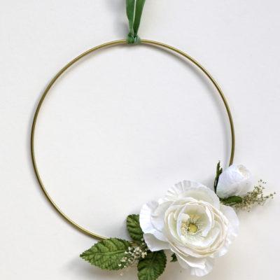 Wedding Hoop Wreath