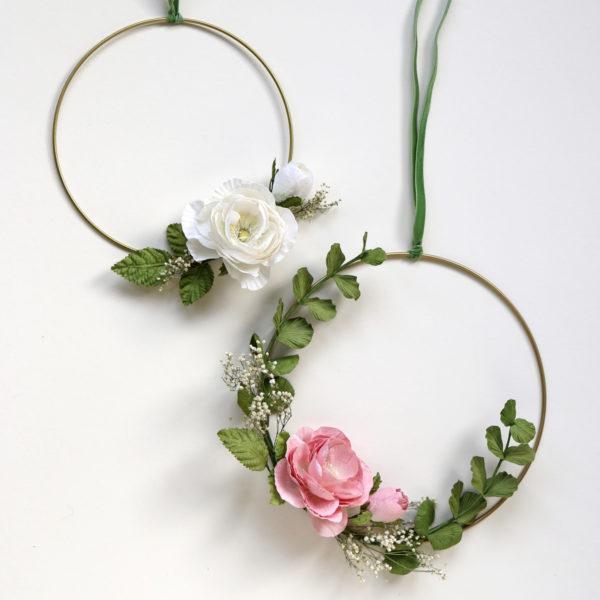 Hoop Wedding Wreath