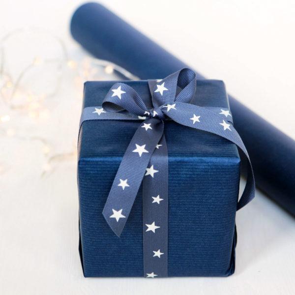 Blue Gift Wrap