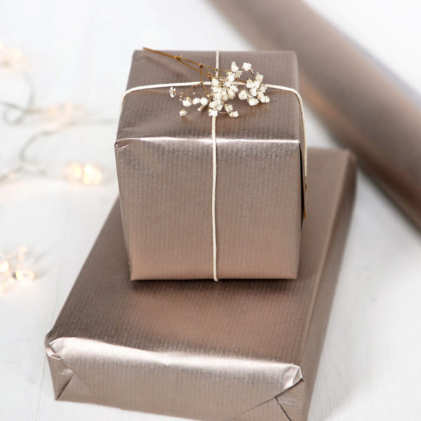 Rose Gold Wrapping Paper