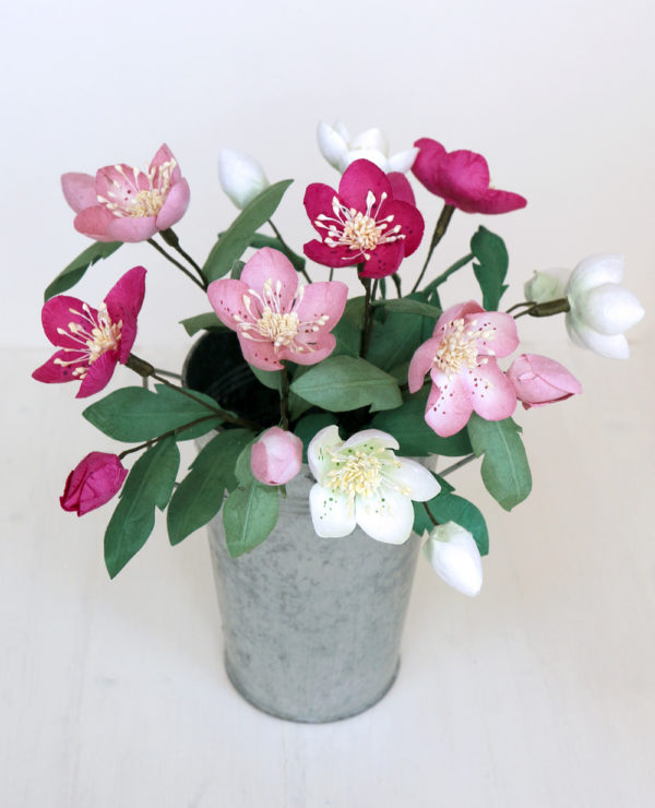 Paper Christmas Roses