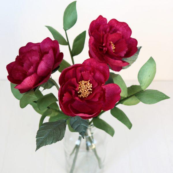 Paper Peony Bouquet
