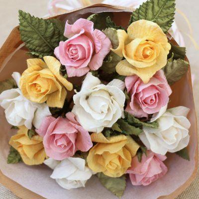 Handmade Paper Rose Gift