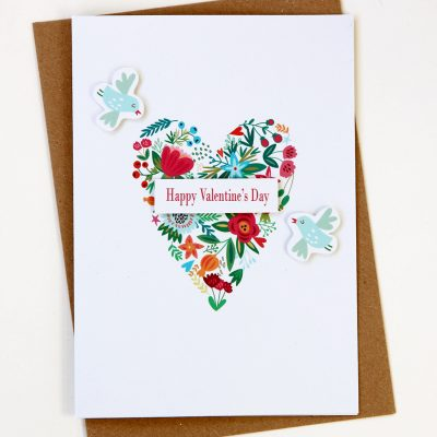 Heart Valentine's Card