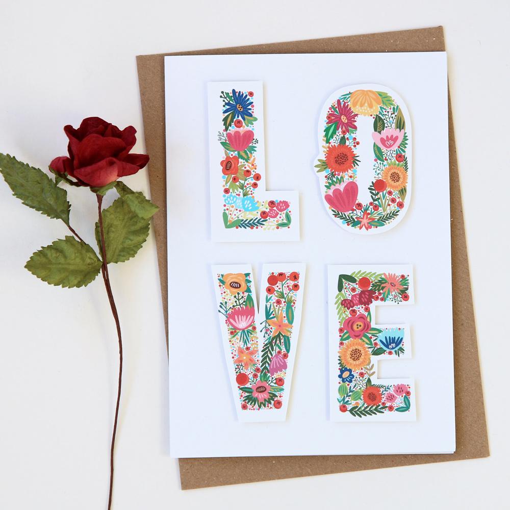 Love Valentine's Card