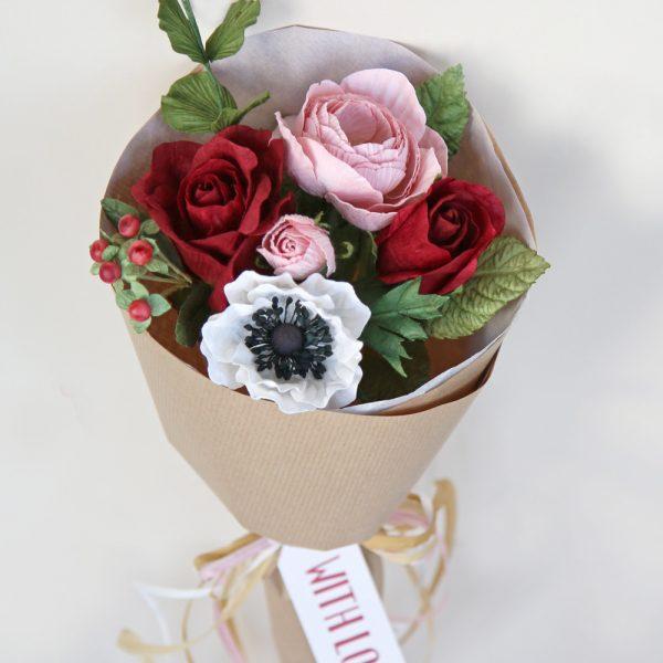 Valentine's Paper Posy
