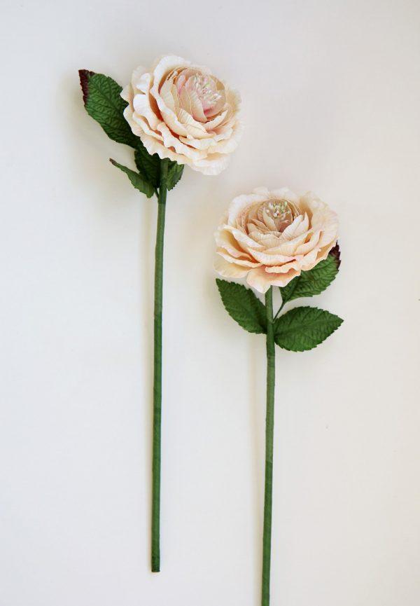 Blush Pink Paper Rose