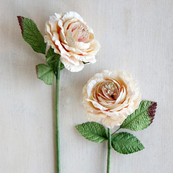English Paper Roses