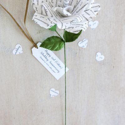 Cotton 2nd Anniversary Gift
