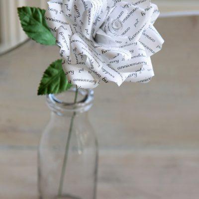 Cotton Paper Rose