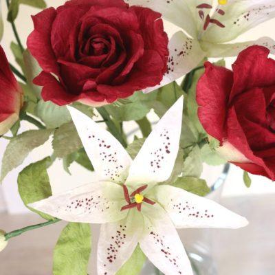 Paper Anniversary Gift Paper Flowers