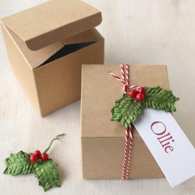 DIY Christmas Gift Box