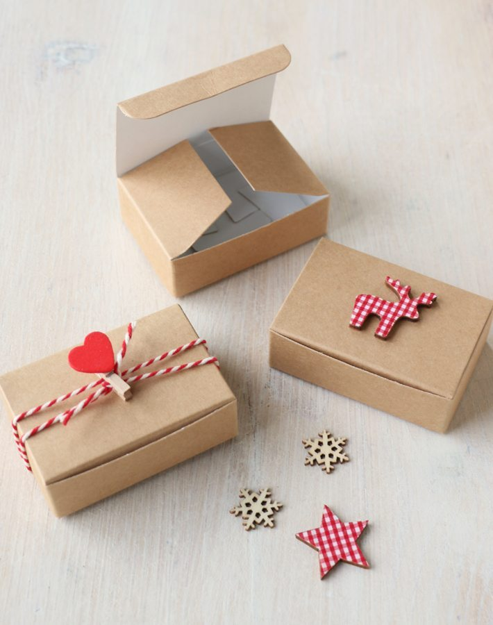 Diy Christmas Mini Gift Box