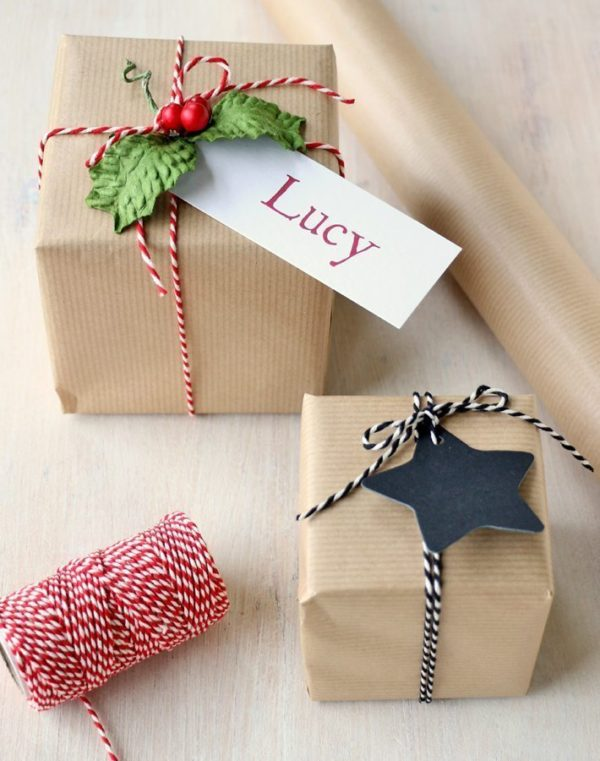 Brown Kraft Gift Wrap
