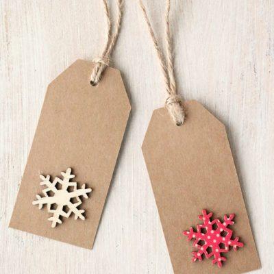 Snowflake Tags