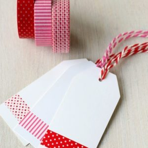 Paper Tape Red Pink