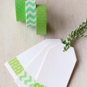 Green Paper Washi Tape